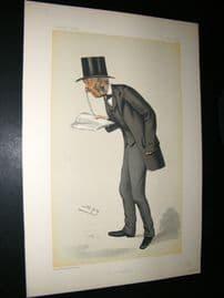 Vanity Fair Print 1882 Lewis Llewellyn Dillwyn, Clergy, Quaker