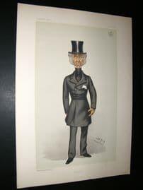 Vanity Fair Print 1882 Lord Penrhyn, Spy Cartoon