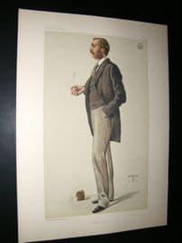Vanity Fair Print 1882 Lord Walsingham.
