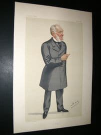 Vanity Fair Print 1882 Samuel Smiles, Literary