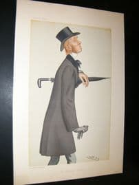 Vanity Fair Print 1882 William Edward Hartpole Lecky
