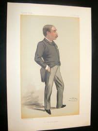 Vanity Fair Print 1882 William Hurrell Mallock.