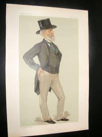 Vanity Fair Print 1883 Charles Clow Tennant, Business