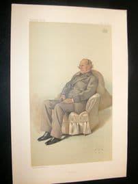 Vanity Fair Print 1883 Earl of Albemarle, Literary