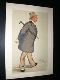 Vanity Fair Print 1883 Earl of Milltown, Irish