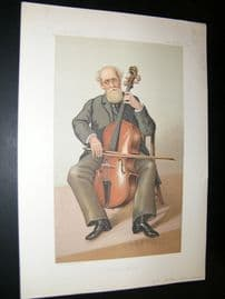 Vanity Fair Print 1883 Gerald Fitz Gerald, Music