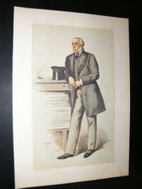 Vanity Fair Print 1883 Julian Pauncefote