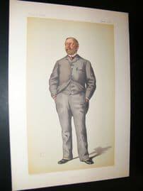 Vanity Fair Print 1883 William Thackery Marriott