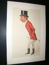 Vanity Fair Print 1884 Capt. Arthur Smith, Fox Hunter