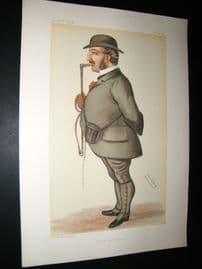 Vanity Fair Print 1884 Leopold De Rothschild, Banker
