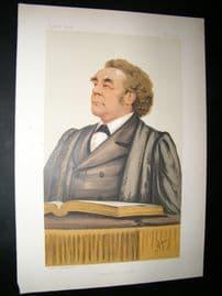 Vanity Fair Print: 1884 Rev. Joseph Parker, Clergy