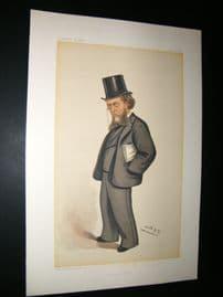Vanity Fair Print 1884 William Cornwallis Cartwright