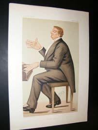 Vanity Fair Print 1885 Corney Grain, Music