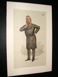 Vanity Fair Print 1885 Earl of Limerick, Freemason
