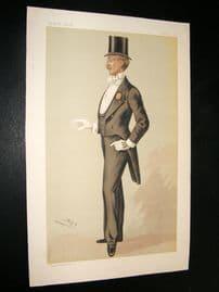 Vanity Fair Print 1885 John Dalacour
