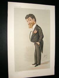 Vanity Fair Print 1885 P. Tosti, Music