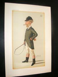 Vanity Fair Print 1885 Robert Bateson-Harvey, Sport Rider