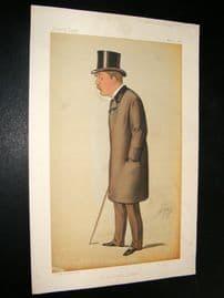 Vanity Fair Print 1885 Thomas Hay Sweet Escott