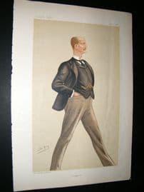 Vanity Fair Print 1886 Arthur William Hill