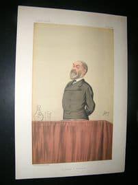 Vanity Fair Print: 1886 Frederick Harrison, Clergy