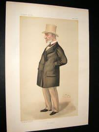 Vanity Fair Print 1886 John Simon, Legal