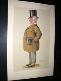Vanity Fair Print 1886 Matthew Dawson, Turf Devotee