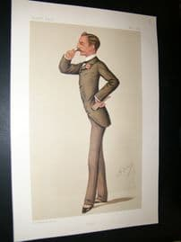 Vanity Fair Print 1886 Sidney Herbert