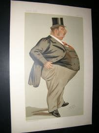 Vanity Fair Print 1887 Charles Isaac Elton, Legal Spy Cartoon