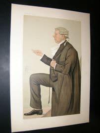 Vanity Fair Print 1887 Frank Lockwood, Legal