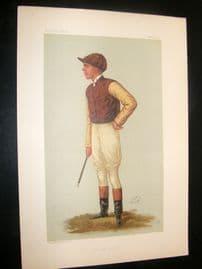 Vanity Fair Print 1887 George Barrett, Jockey