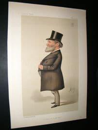 Vanity Fair Print 1887 James Porter Corry, Business