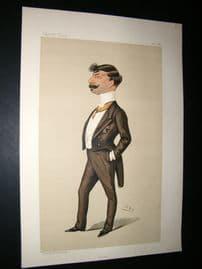 Vanity Fair Print 1887 John Gennadius, Greek Minister