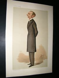 Vanity Fair Print 1887 Morell Mackenzie, Doctor