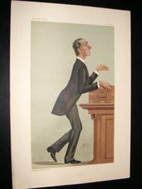 Vanity Fair Print 1887 Rt, Hon Henry Mathews