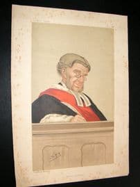 Vanity Fair Print 1887 W. R. Grove, Judge