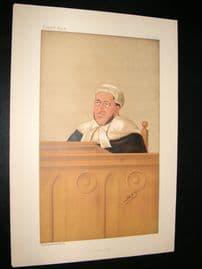 Vanity Fair Print 1888 Arthur Charles, Judge