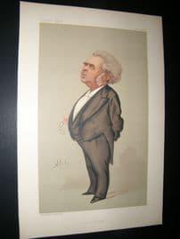 Vanity Fair Print 1888 Charles Floquet. French Prime Minister