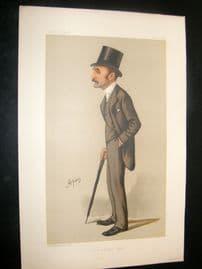 Vanity Fair Print 1888 Frederick Charles Philips, Literary