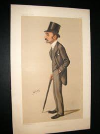 Vanity Fair Print 1888 Frederick Charles Phillip, Literary