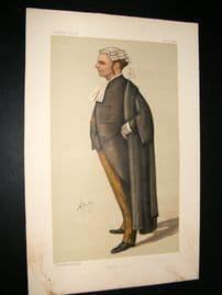 Vanity Fair Print 1888 R. B. Finlay, Legal