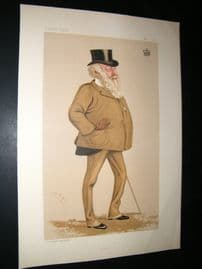 Vanity Fair Print 1888 The Viscount Combermere, Turf