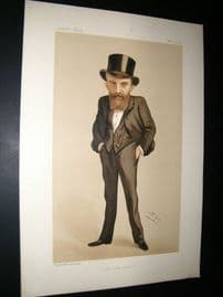 Vanity Fair Print 1888 Thomas Wallace Russell, Irish