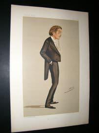 Vanity Fair Print 1888 William Bromley Davenport