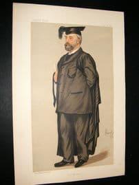 Vanity Fair Print 1889 Edmund Henry Morgan, Teacher