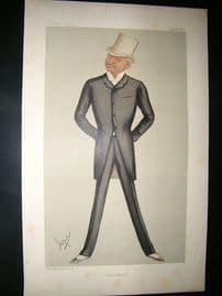 Vanity Fair Print: 1889 George Edward Gouraud, American