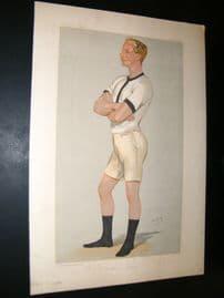 Vanity Fair Print 1889 Guy Nickalls, Rower