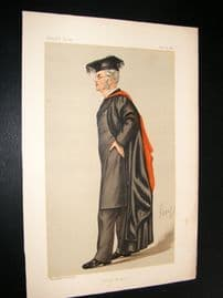 Vanity Fair Print 1889 Henry Arthur Morgan, Teacher