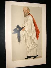 Vanity Fair Print 1889 Henry Montagu Butler, Clergy