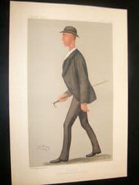 Vanity Fair Print 1889 Henry Searle, Rower. Australia