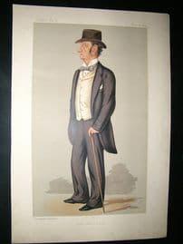 Vanity Fair Print: 1889 Justice Barry, Legal